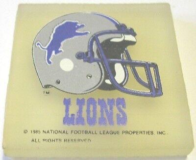 Umoristico Gommina Football Americano 1985 Detroit Lions Eraser Gomma Rubber Radiergummi 02