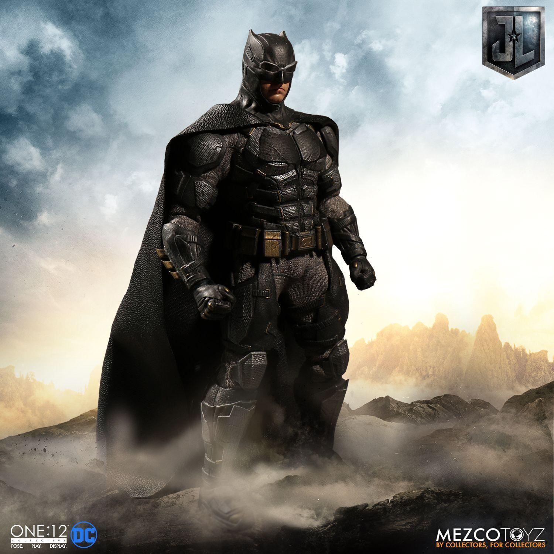 One  12 Collective DC Justice League  BATuomo TACTICAL SUIT 6  azione cifra Mezco  colorways incredibili