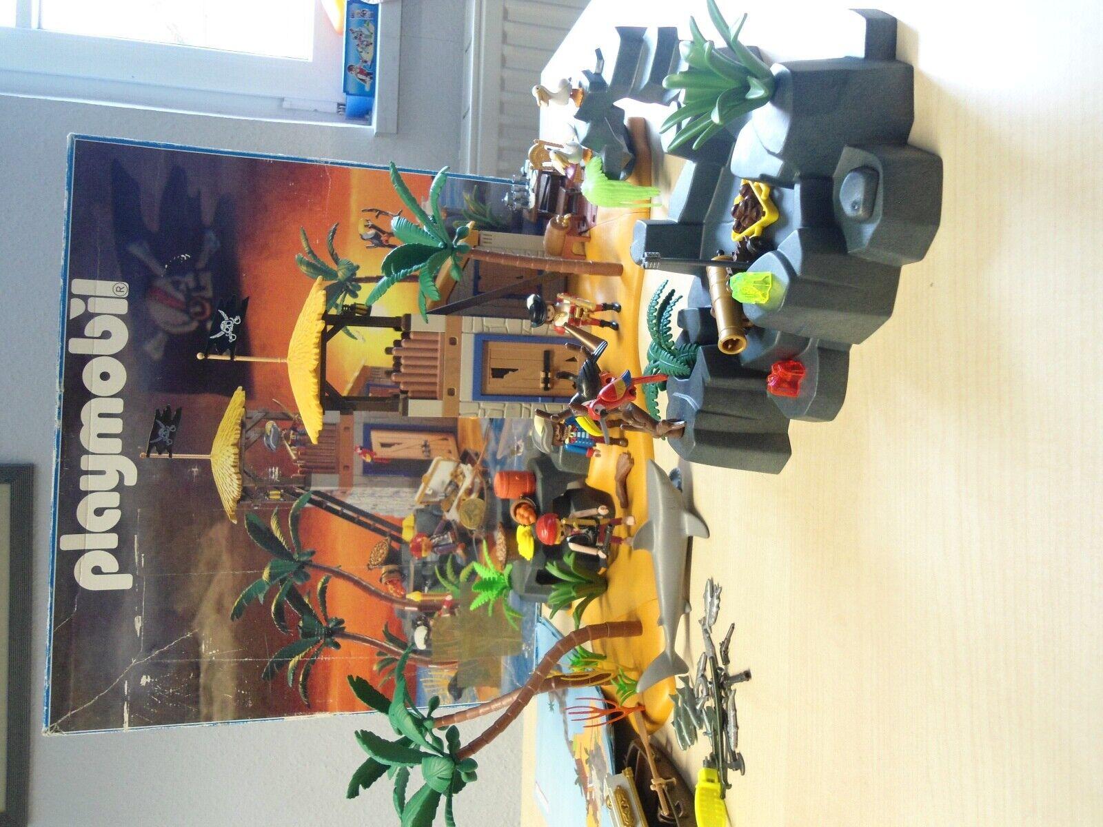 Playmobil Set 3938    Große Pirateninsel    gebraucht