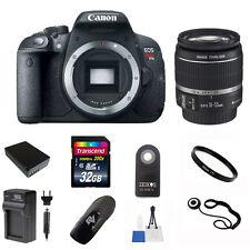 Canon EOS Rebel T5i DSLR Camera + 18-55 EF-s STM Lens + 32GB Value Bundle