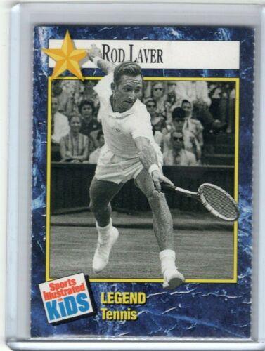 1992 Sports Illustrated Kids Si tennis ROD LAVER