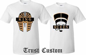 b84ba5bceac Couple Matching Love T-Shirts - King And Queen - His and Her ...
