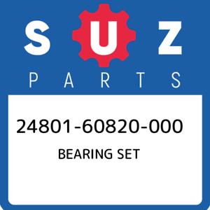24801-60820-000 Suzuki Bearing set 2480160820000 New Genuine OEM Part