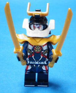 Lego Ninjago-figurine Samouraï X (p.i.x.a. L) Avec 2 X épée Gold Njo428 Article Neuf-afficher Le Titre D'origine