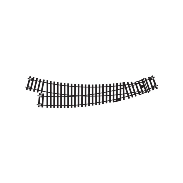 Hornby R8075 OO Right Hand Curved Point New