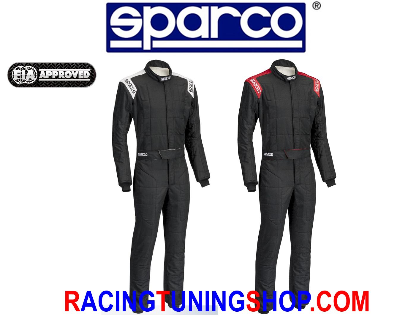 TUTA SPARCO CONQUEST OMOLOGATA FIA 8856-2000 RACING SUIT SPARCO