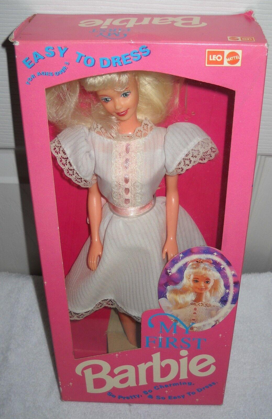 Raro Nrfb Leo Mattel India Mi Primera Muñeca Barbie exterior cuestión