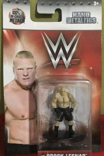 WWE Brock Lesnar metalfigs Superstar Die-Cast Metal Figure Neuf envoi gratuit