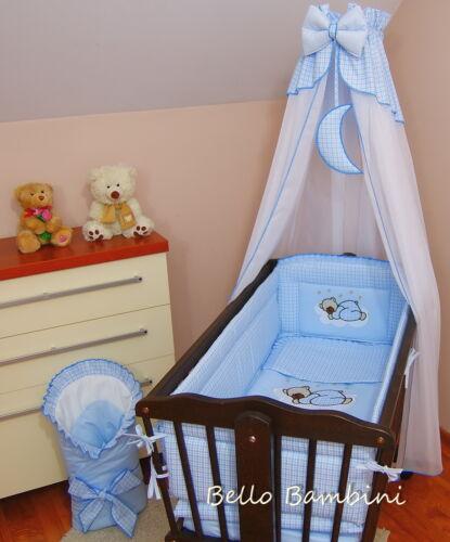 tous roundbumper 260cm long pour swinging crib//berceau 100/% coton Cribcanopydrape