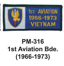 """3""""  1ST AVIATION BDE.(1966-1973) Embroidered Military Patch"""
