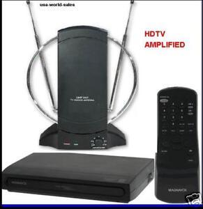 Magnavox Digital To Analog Converter Box Amlified Tv Antenna