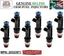 6 OEM Delphi FUEL INJECTORS FOR 2002-2005 Buick Rendezvous 3.4L P# 25323971