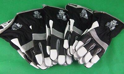 Lge TIGMATE Large Tig welders Gloves,Top Quality Leather TIG gloves Pigskin 1Pr