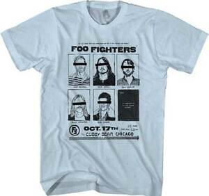 0925dfb9 FOO FIGHTERS - Cubby Bear Chicago T SHIRT S-2XL New Official Live ...