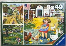 Ravensburger Jigsaw Puzzle In the Country 1984 Otto Maier Verlag W. Germany New