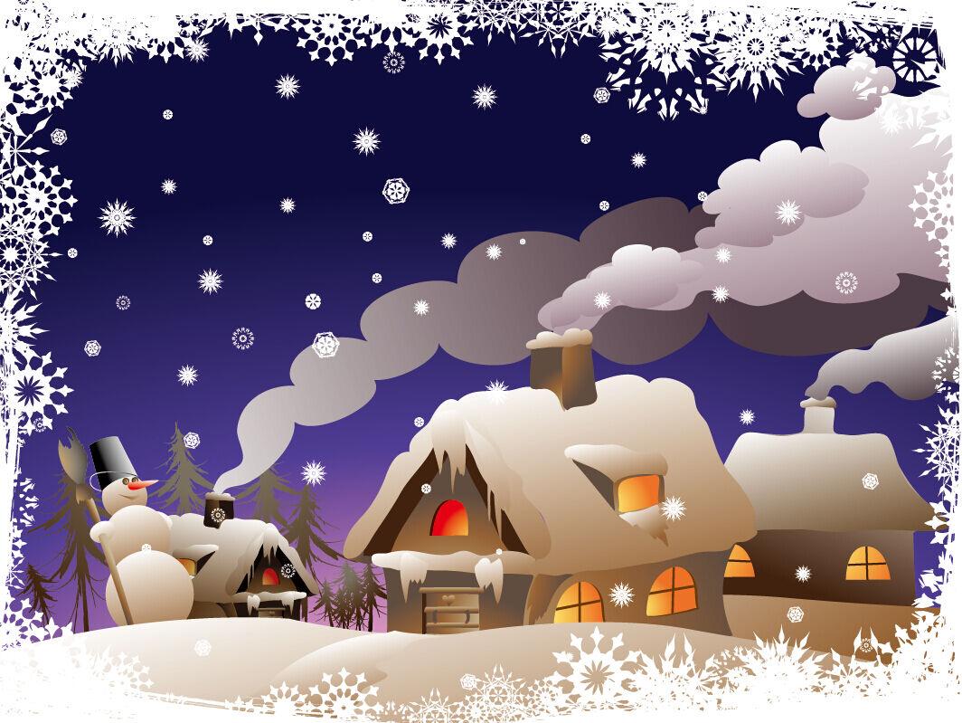 3D Weihnachten Schöne Wolken 47 Fototapeten Wandbild BildTapete Familie DE
