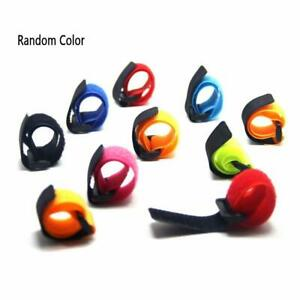 10-5pcs-Fishing-Rod-Strap-Tie-Holder-Suspenders-Fastener-Cable-Loop-Hook-E6E2