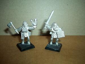 Warhammer Fantasy Mordheim Witch Hunter Warband Zealots x 2 OOP