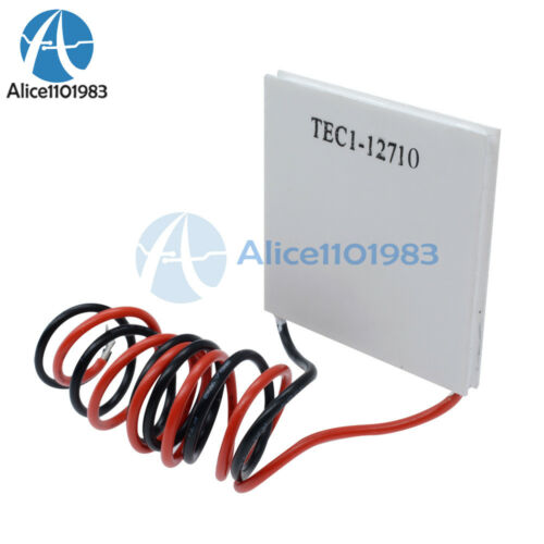 1//2//5//10PCS TEC1-12710 Heatsink Cooling Thermoelectric Peltier Plate Module