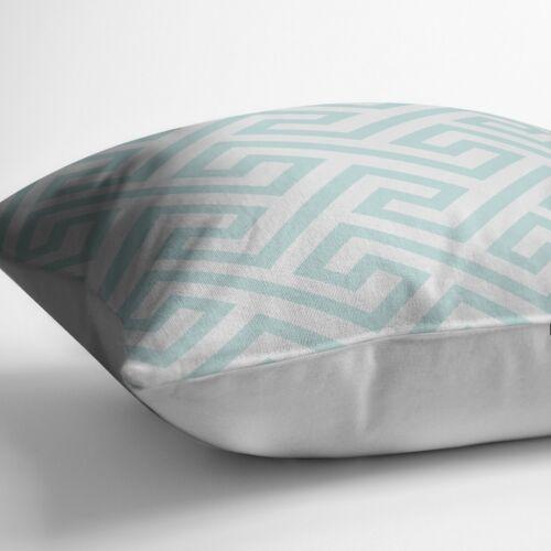 Adam Home 3D Digital Prints élégant Labyrinthe Design housses de coussin en Pack de 4