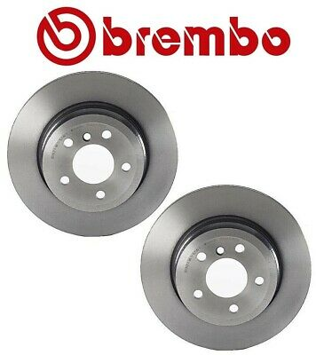 Pair Set 2 Front Vented Disc Brake Rotors Brembo For BMW E70 F15 X5 E71 F16 X6