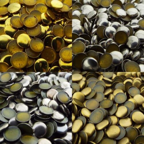 Metal Finish 6mm Iron On Hot Fix Melt Studs Round Dome Buy 100 5g 200 10g