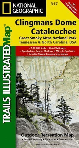 National Geographic Trails Illustrated TN/NC Clingmans ...