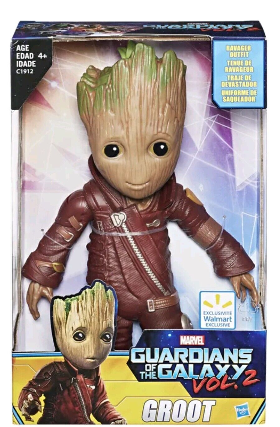 Marvel Guardians of the Galaxy II Baby Groot 10  Figure Ravager Outfit Vol.2