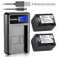 Np-fv70 Battery&lcd Usb Charger For Sony Dcr-sr15 Sr21 Sr68 Sr88 Sx15 Sx21 Sx44