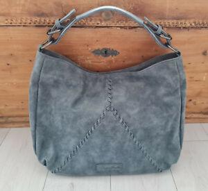 Fritzi aus Preußen Damen Doppel Handtasche Blau