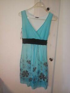 Bodyflirt 32 34 Kleid Turkis Ebay