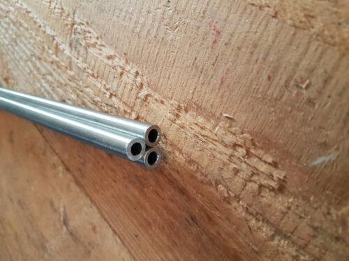 W 4404 Edelstahl Rohr nahtlos V4A  10 x 2  mm Länge= 990 mm