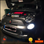 Fiat-500-2007-Abarth-Bright-White-LED-SMD-Daytime-Running-Lights-DRL-Bulbs thumbnail 1