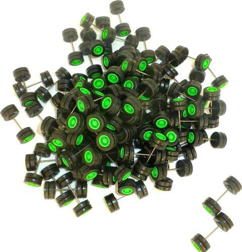75 x essieu 30mm achsbreite Continental vert plastique Herpa albédo 1:87 r66 å