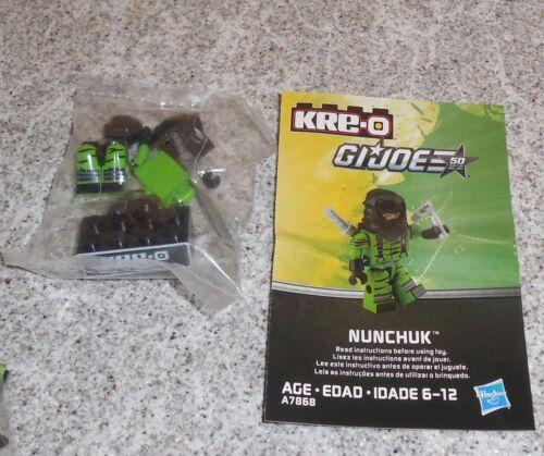 G.i Joe Kreo NUNCHUK Figure New Misp Kreon Kre-o Micro Changers