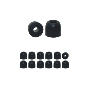 Memory Foam Ear Tips 6 pr Silicone /& 6 pr Replacement Earbud Tips for Anker