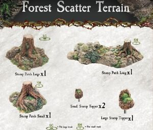 Dwarven-Forge-Caverns-Deep-Dreadhollow-Forest-Scatter-Terrain-D-amp-D-Tiles-NEW