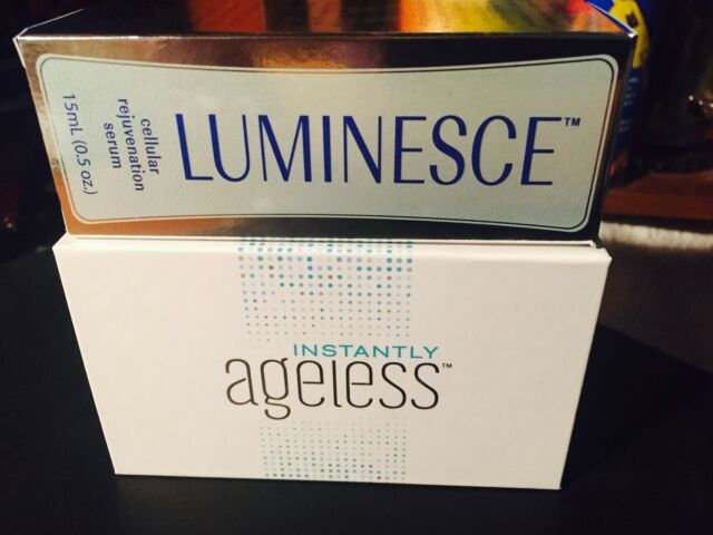 "Jeunesse COMBO: ""Luminesce Serum""(15ml/0.5oz) & ""Instantly Ageless""(50 pack)"