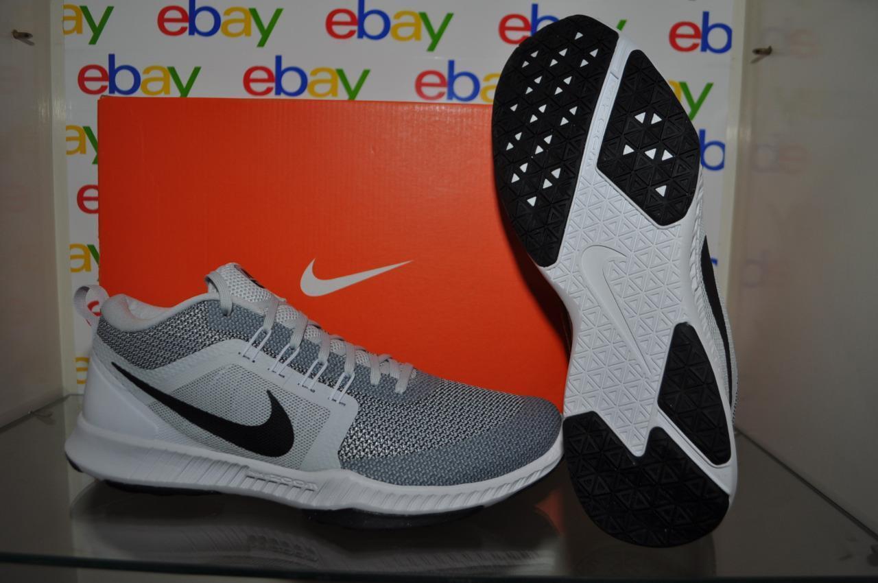 Seasonal price cuts, discount benefits Nike Zoom Domination TR Mens Training Shoes 917708 002 Gray/White/Black NIB
