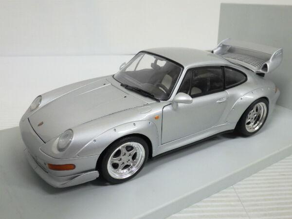 Nº de Porsche 991 993 GT2 Diecast modelos Precision 1 18 Plata, UT-Modelos rara
