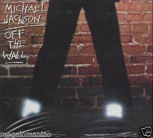 CD-Compact-disc-MICHAEL-JACKSON-OFF-THE-WALL-nuovo-sigillato-Digipack
