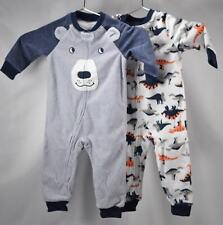 ece0f9602 Carter s Boys  12m-10 Space Fleece Pajamas Black 12 Months for sale ...
