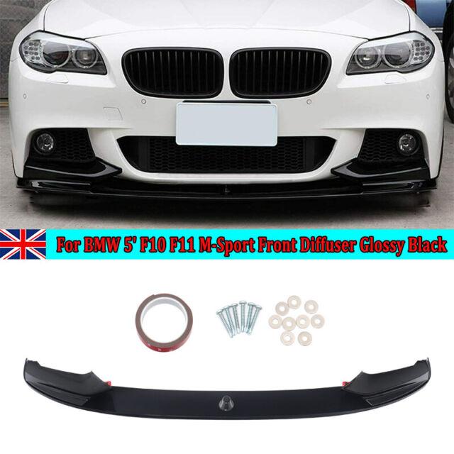 FOR BMW 5 SERIES F10 F11 M SPORT FRONT SPLITTER LIP DIFFUSER PERFORMANCE SPOILER