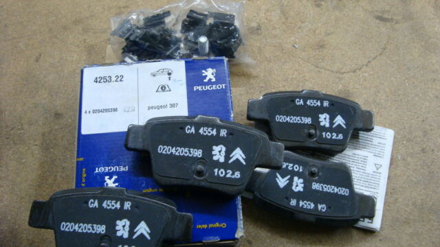 425478 Brand New Genuine Peugeot 407 Front Brake Pads Part No