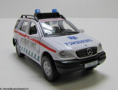 Mercedes Benz ML320 Accident Unit ca 1:43 neuwertig OVP