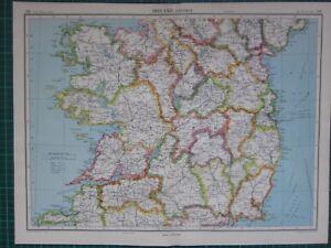 BUCKS COUNTY PENNSYLVANIA ATLAS MAP DUBLIN BLOOMING GLEN 1891 TINICUM