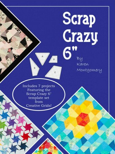"""Scrap Crazy 6/"""" by Karen Montgomery for Scrap Crazy 6/"""" Template Set 17 Pages"""