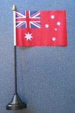 Australian Red Ensign Desk Table Top Flag