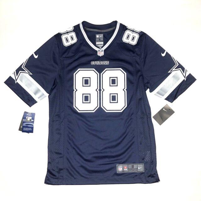 NFL Nike Dez Bryant 88 Dallas Cowboys Men s Jersey Size S Small Navy Retail   100 f38095abb