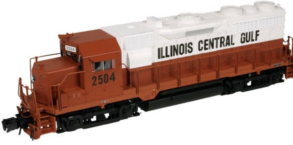 Nej.ATLAS O TMCC ILLINOIS CENTRAL GULF GP-35 DIESEL MOTOR FITS LIONEL MTH K-LINE